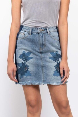 BLUE DAISY SKIRT