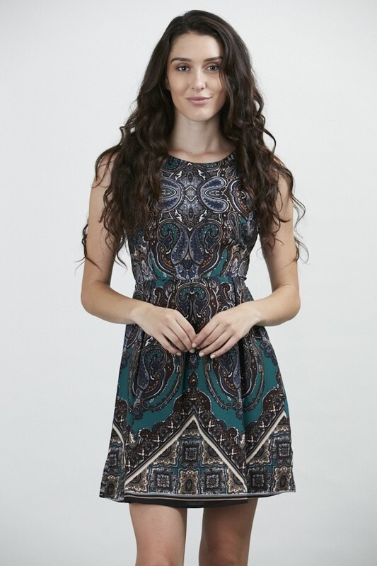 HONEST PAISLEY DRESS