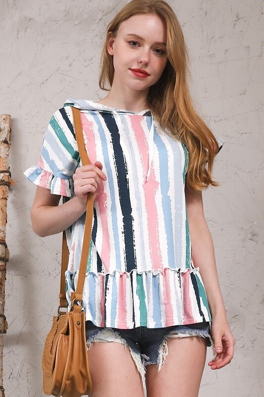 PAINTED PASTELS TOP