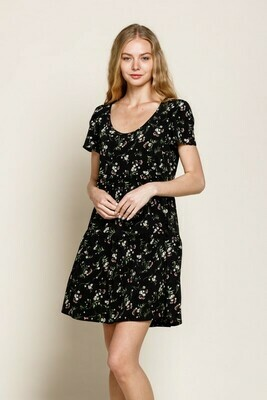 BABYDOLL SCOOP DRESS
