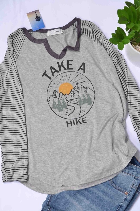 TAKE A HIKE TOP