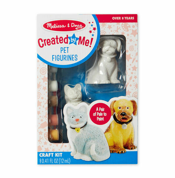 8866-ME ARTS & CRAFTS - PET FIGURINES