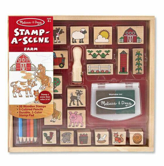 18592-ME STAMP-A-SCENE - FARM