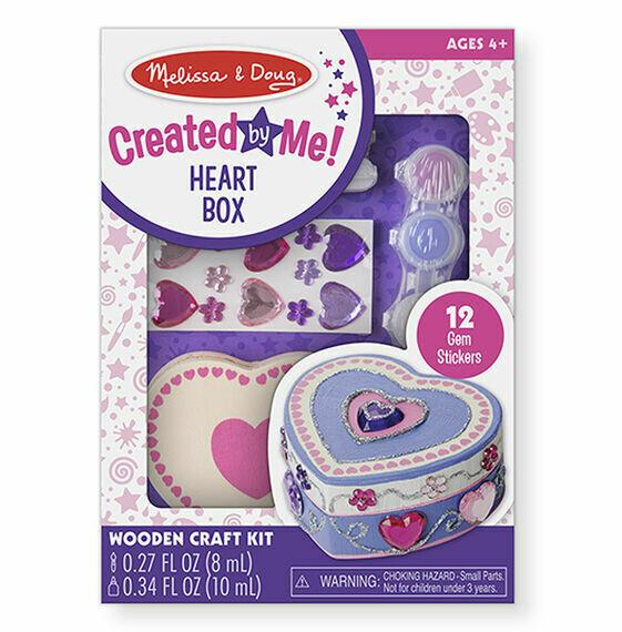 8850-ME ARTS & CRAFTS - HEART BOX