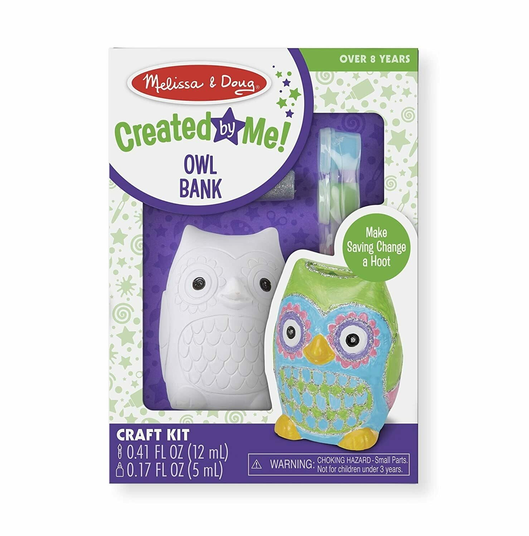9538-ME ARTS & CRAFTS - OWL BANK