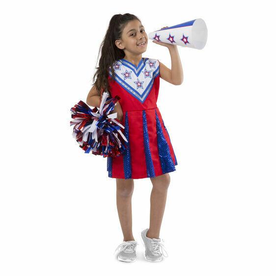 8509-ME Cheerleader -Role Play Set
