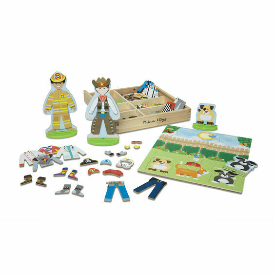 9309-ME Occupations Magnetic Pretend Play