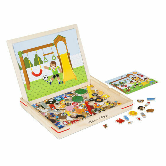 9918-ME Wooden Magnetic Matching Picture Game