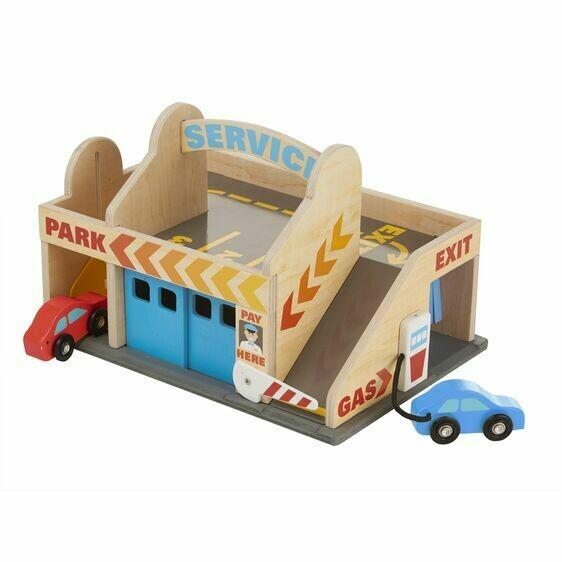 9271-ME Service Station Parking Garage