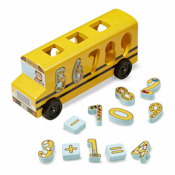 9398-ME Number Matching Maths Bus
