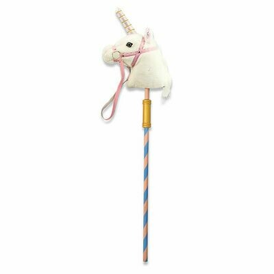 2181-ME Prance-n-play Stick unicorn
