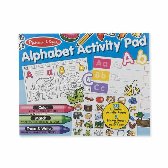 8563-ME Alphabet Activity Pad