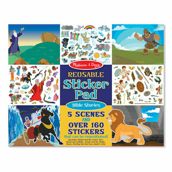9124-ME Reusable Sticker Pad - Bible Stories