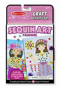 9443-ME On-the-Go Crafts - Sequin Art -Fashions