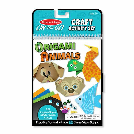 9442-ME Craft activity set - Origami Animals
