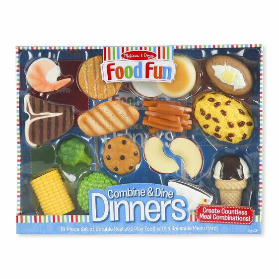 8268-ME Food Fun Combine & Dine Dinners - Blue