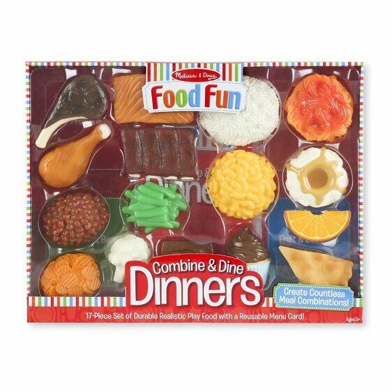 8267-ME Food Fun Combine & Dine Dinners - Red