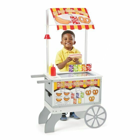 9350-ME Snacks & Sweets Food Cart
