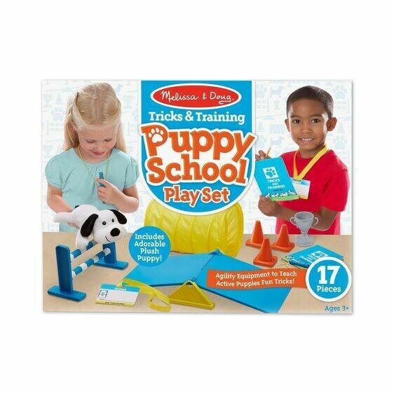 8540-ME Tricks & Training Puppy School Play Set