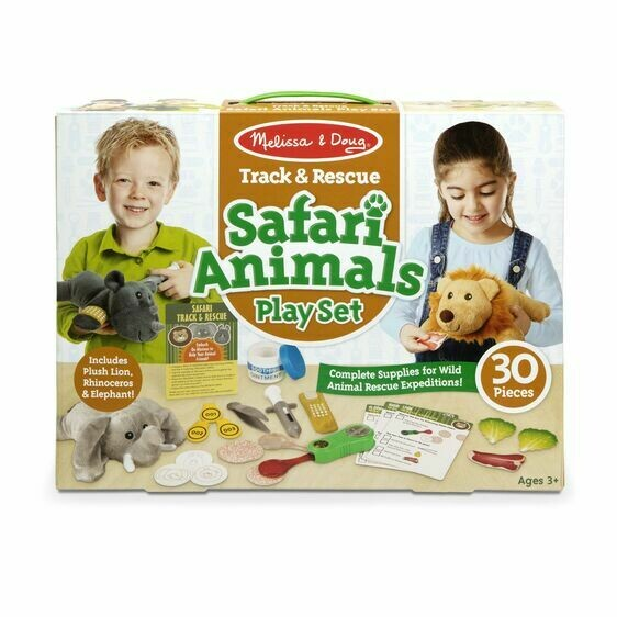 8543-ME Track & Rescue Safari Animals Play Set