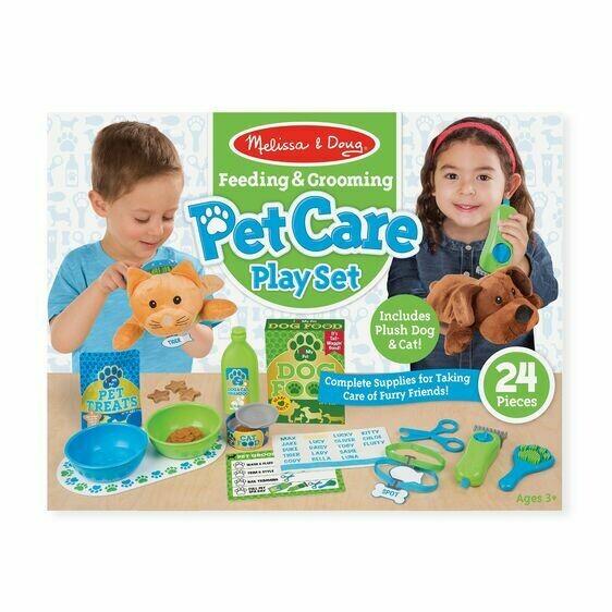 8551-ME Feeding & Grooming Pet Care Play Set