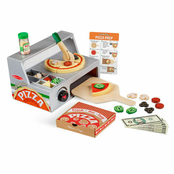 9465-ME Top & Bake Pizza Counter