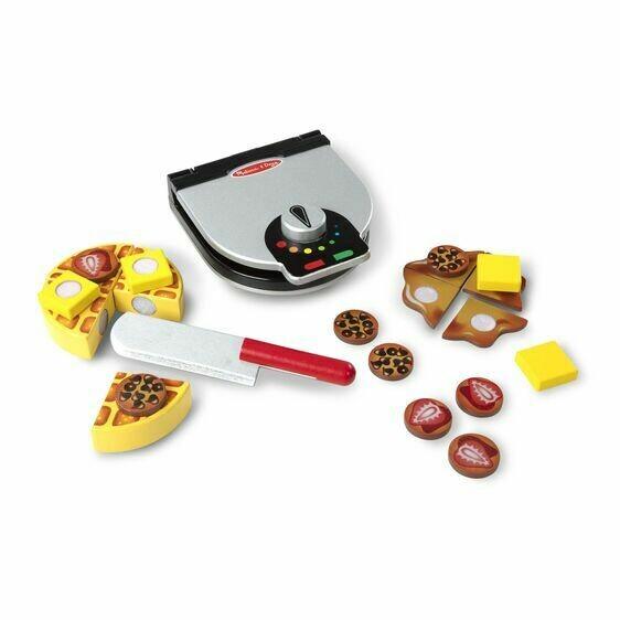9346-ME Press & Serve Waffle Set