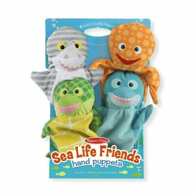 9117-ME Sea Life Friends Hand Puppets