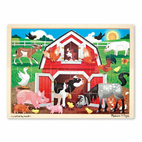 9061-ME Barnyard Jigsaw Puzzle (24pcs)