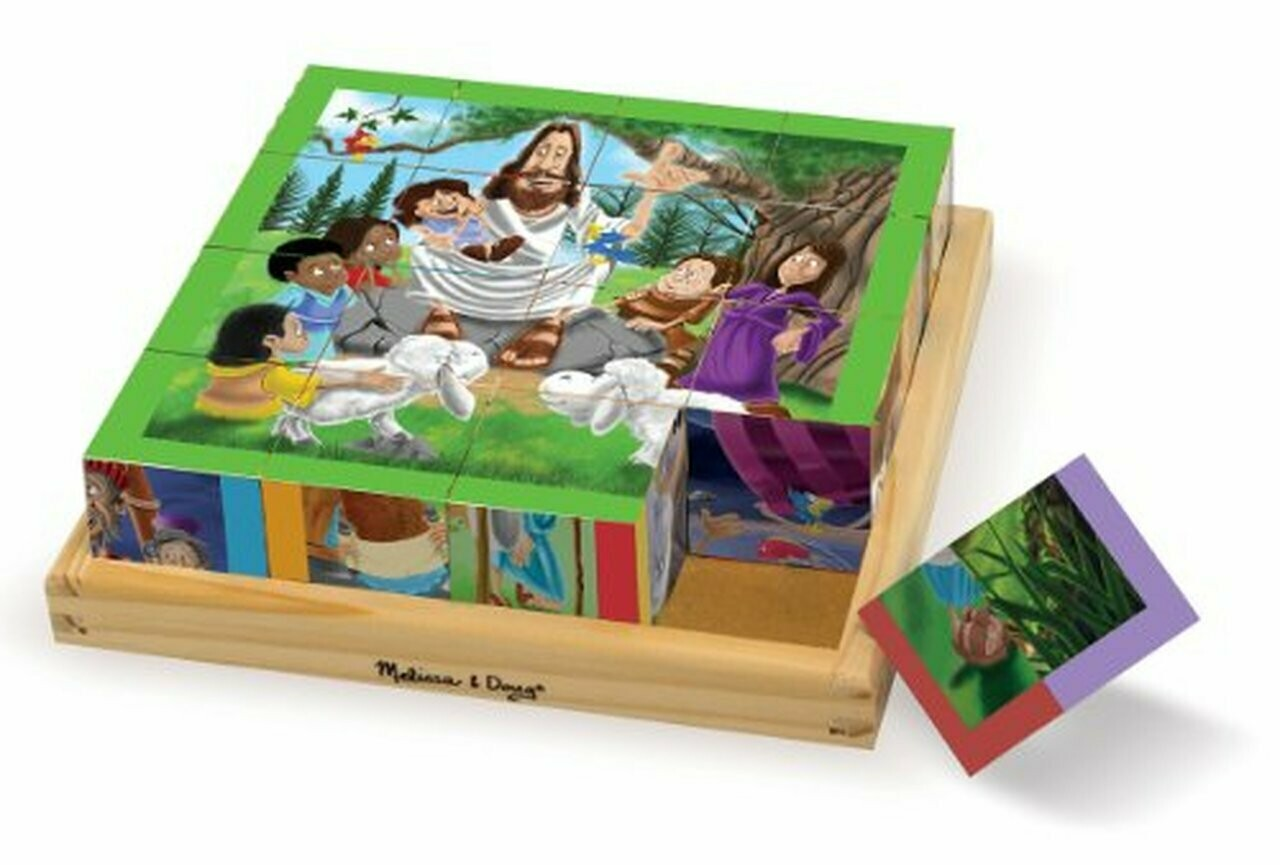 9256-ME New Testament Cube Puzzle
