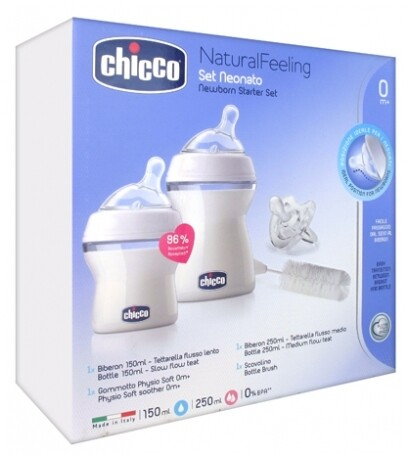 SET NATURAL FEELING PEQ CHICCO