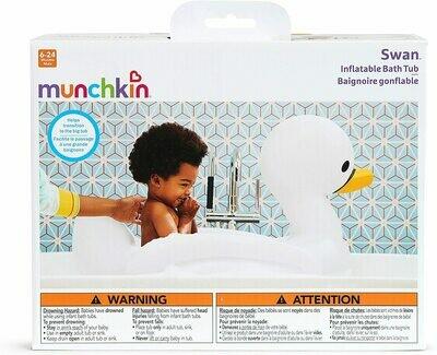 MUNCHKIN CISNE INFLABLE C/SEGURIDAD WHITE HOT