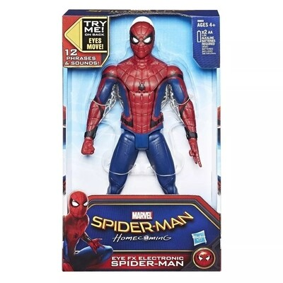 SPIDER-MAN FIGURA ELECTRONICA 12