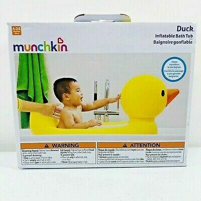 MUNCHKIN TINA INFLABLE C/SEGURIDAD WHITE HOT