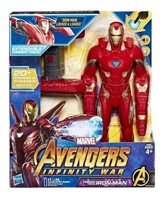 AVENGERS MISSION TECH IRON MAN