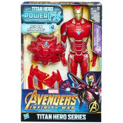 AVENGERS 12IN TITAN HERO POWER FX IM