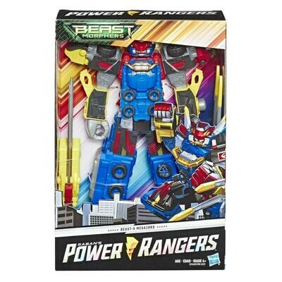 POWER RANGER 10IN BMR ZORD ACTION FIGUREAST