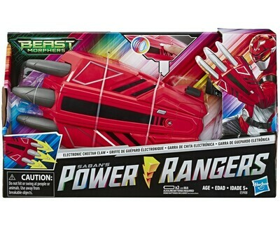 POWER RANGER BMR CHEETAH CLAW