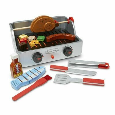 9269-ME ROTISSERIE & GRILL BARBECUE SET
