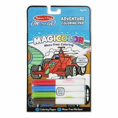 9129-ME MAGICOLOR COLORING PAD - ADVENTURE