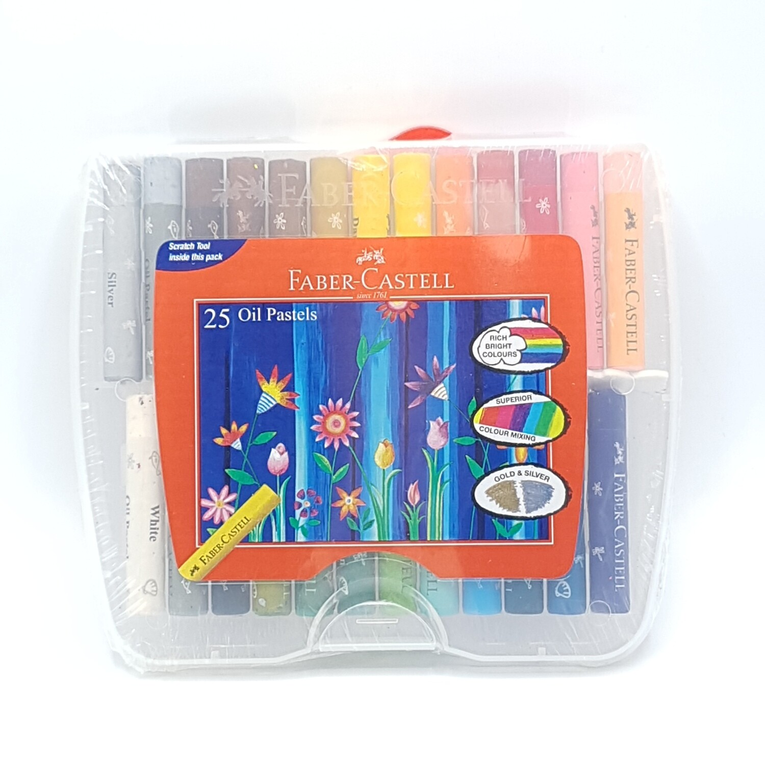FABER CRAYOLA OIL PASTEL 25COL