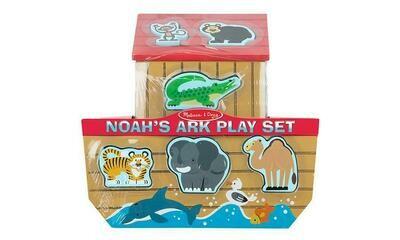 3786-ME NOAH'S ARK PLAY SET