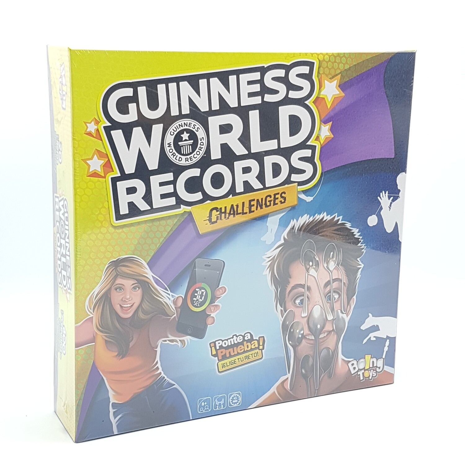 GUINNESS WORLD RECORDS CHALLENGES RETOS