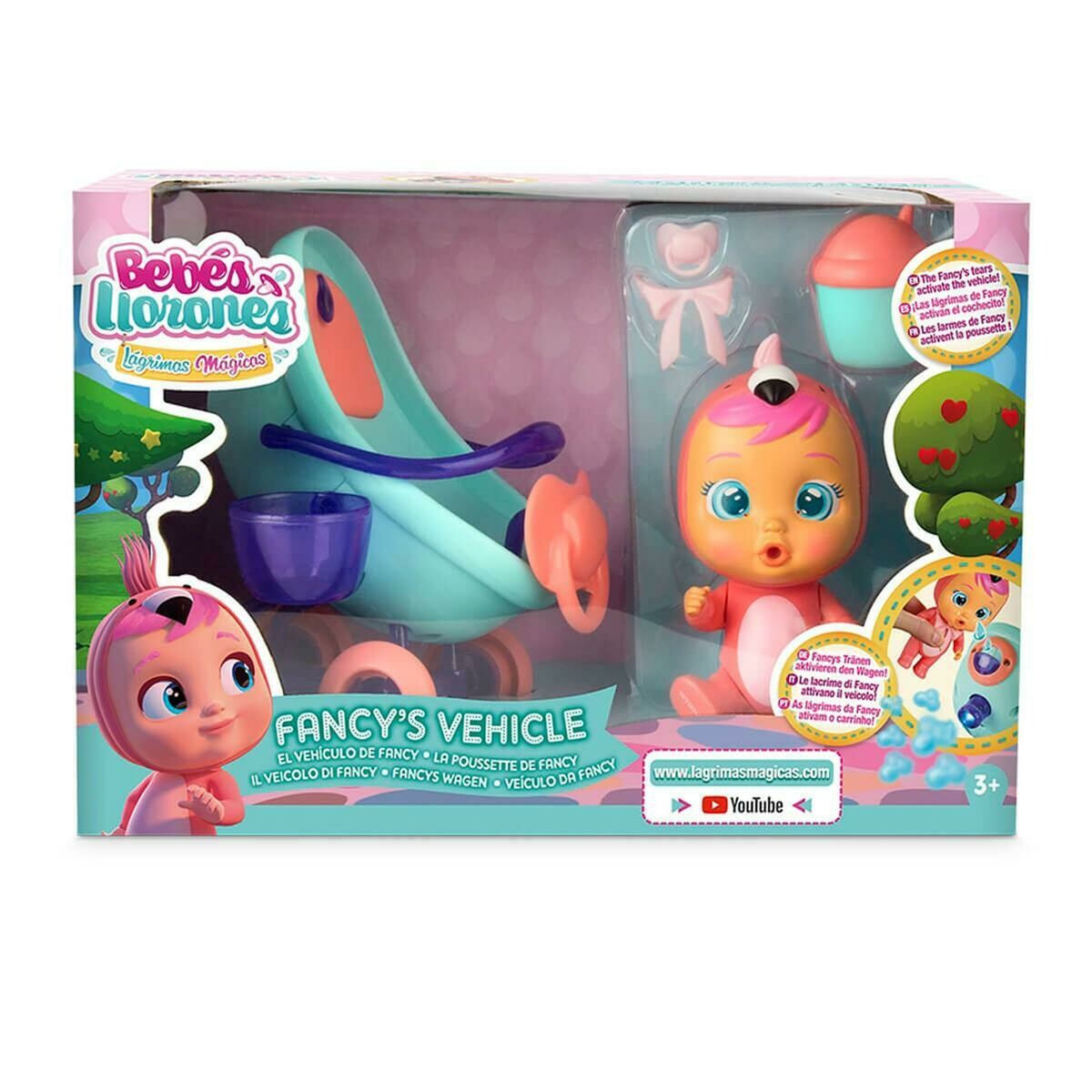 CRY BABIES MAGIC TEARS PLAY SET VEHICULO FANCY