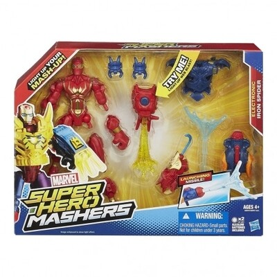MARVEL SUPER HERO MASHERS IRON SPIDER