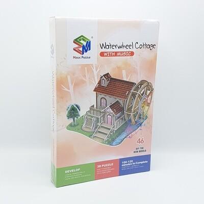 ROMPECABEZA 3D WATERWHEEL COTTAGE ZM305 Y781
