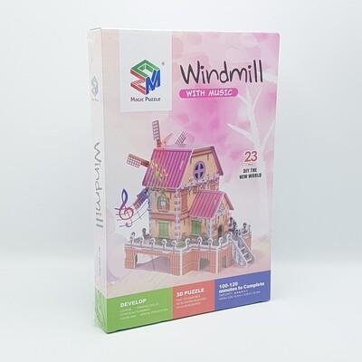 ROMPECABEZA 3D WINDMILL ZM301 Y781