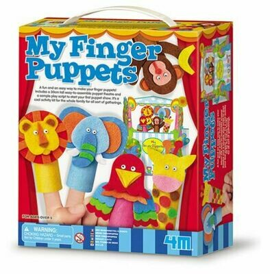 My Finger Puppets 4M