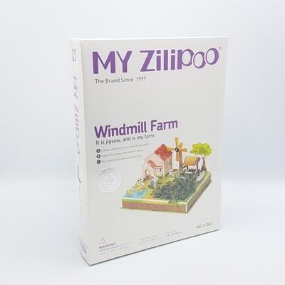 ROMPECABEZA 3D MAQUETITAS MY ZILIPO Z001 Y781 WINDMILL FARM
