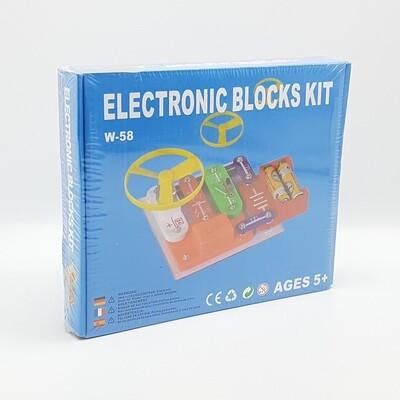 JUEGO BLOQUES ELECTRONICOS  W-58 Y547
